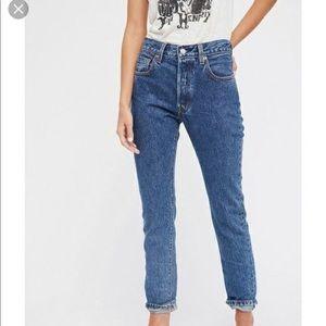Levi's Women's 501 Skinny Selvedge Jeans